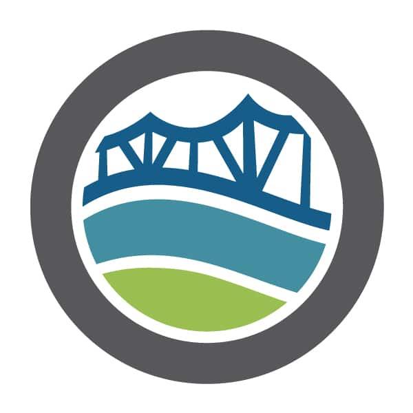 Visit Owensboro bridge logo