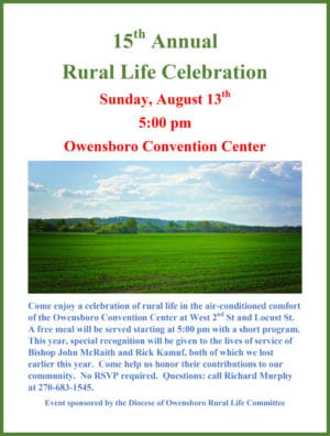 15th Annual Rural Life Celebration @ Owensboro Convention Center | Owensboro | Kentucky | United States