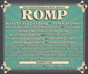 ROMP Festival 2017 @ Yellow Creek Park | Owensboro | Kentucky | United States