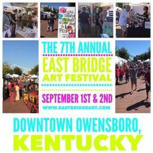 7th Annual East Bridge Art Festival @ Smothers Park | Owensboro | Kentucky | United States